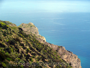 Lagoon, Tindari, Sicily
