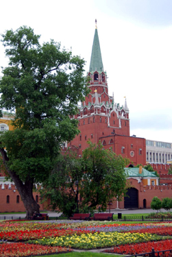 Alexander Gardens, Moscow, Russia