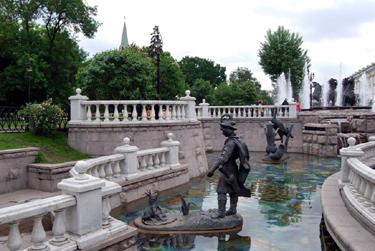 Alexander Garden, Moscow, Russia
