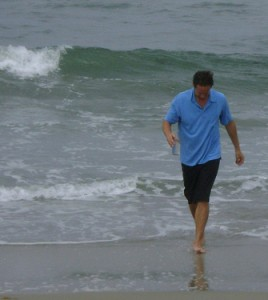 Me carrying Pacific Ocean water on Flickr