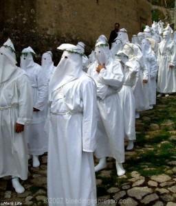 Sabato Santo procession, Badolato 2007