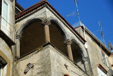 Loggia in the Catalan style, Palazzo Polito, Sessa Aurunca by Karen Wolf