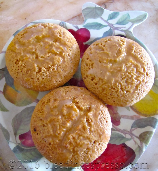 Citrus Olive Oil & Polenta Muffins