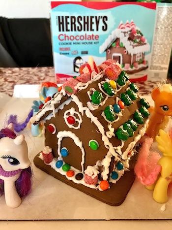 Hershey's Chocolate House for Christmas
