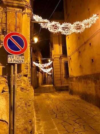 Christmas in Calabria: Corso Umberto I Badolato