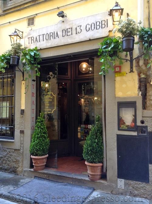 Trattoria dei 13 Gobbi - Florence - Firenze - Italy